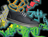 sneaker poster