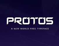 Free Protos Display Font