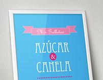 Carteles tipográficos personalizados