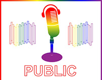 Public Edu(gay)tion Podcast Brand Identity