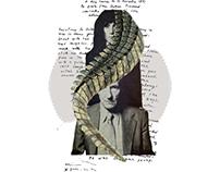 Patti Smith & William Burroughs by Robert Mapplethorpe