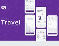 Travel Insurance Mobile App - UI/UX Redesign
