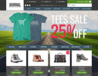 Journal, OpenCart Premium Shoes Bags Shop Theme