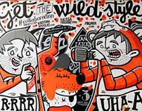 CAN Mural - Brick Lane, Shoreditch
