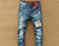 FashioninVogue denim shirt jeans jacket for men
