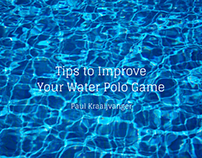 Tips to Improve Your Water Polo Game