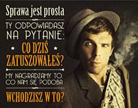 ZATUSZOWANI / citylight, poster