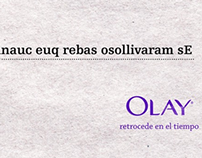 "OLAY ""Reverse the time"""