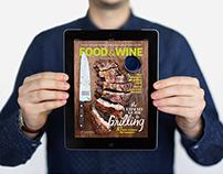Food & Wine Tablet