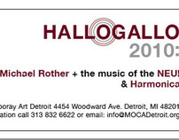 Hallogallo 2010 Ticket for MOCAD
