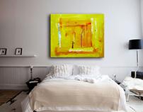 Мои картины в интерьере современного жилища