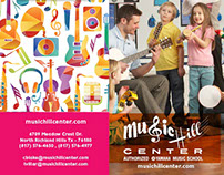 Identidad Gráfica - Music Hill Center®