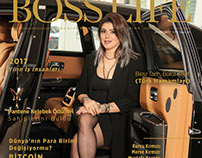 Boss Life - Hilal Aysal Aralık 2017 Dergi Kapağı