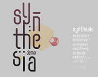 Free Font - Synthesia