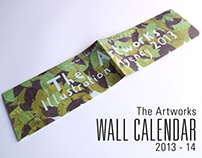 The Artworks 2013 and 2014 wall calendar