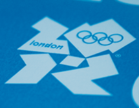 London Olympic Games 2012 - Screen Printed Poster