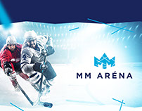MM Arena - corporate identity design