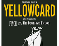 Yellowcard - Lift A Sail Tour