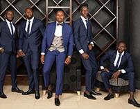 LUGO COLLECTION KENYAN CUSTOM MADE MEN WEDDING SUITS