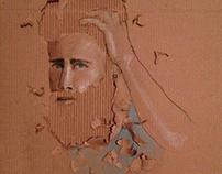 Cardboard Drawing