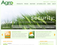 AgroNational Website Redesign