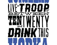 Branding // Gorillas Vodka & Salsa