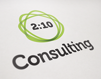 2:10 Consulting - logotype and business cards - 2013