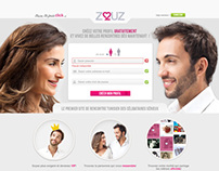 ZOUZ.COM landing page
