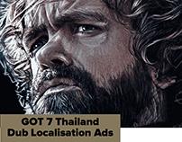 GOT 7, Thailand Dub Localisation Ads