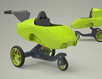 Stroller Design - Car Stroller