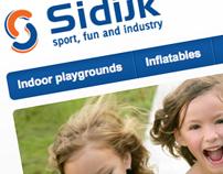 Sidijk - website and printed catalogue