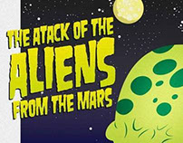 The Attack Aliens from the Mars
