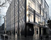Anti-blast facade concept.