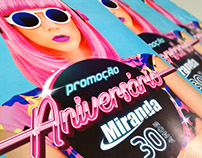 Case - Campanha Promoção Aniversário Miranda 30 anos
