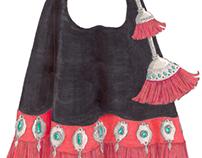 Colección de bolsos Ghawazee- Libro de tendencias 2013