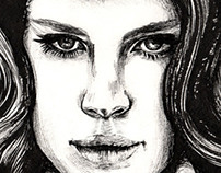 Lana Del Rey Artworks