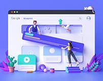 3D Dashboard illustration (2019-2020)
