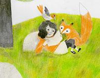 la volpe, il picchio e la bambina, edizioni Terranuova