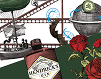 Goldberg machine illustration for Hendrick's
