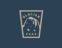 Glacier Park Brand Mark