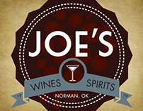 Joes Wines and Spirits Logo (2013)