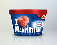 Manhattan Ice Cream Packaging