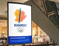 Budapest 2024 Olympics logo idea