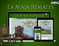 LA MAJA REMATES - DISEÑO WEB
