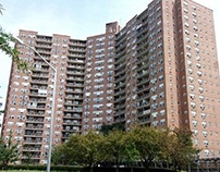 An apartment development at the Bronx |