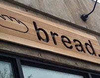 Somerville Bread Company - cedar facade sign