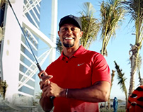 Tiger Woods Back in Dubai - Edit/Motion Graphics.