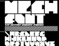 MECH - Typeface
