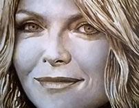 Study For Portrait Of Michelle Pfeiffer