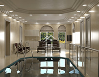 Дизайн бассейна и СПА-зоны в частном доме